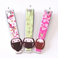 China Novelty Design Printed Promotional Nail Clippers Key Rings For Personalization on sale