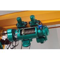 China Light Weight Electric Wire Rope Hoist For Single Girder Overhead Cranes / Gantry Cranes wholesale