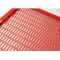 China ISO9001 Spraying Aluminum Expanded Metal Mesh For Cab Truck Dividers on sale