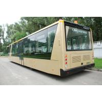 China 4 Stroke Diesel Engine Airport Apron Bus , International Airport Coaches wholesale