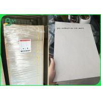 China Plain Grey Board Recycled 2.0mm 1250gsm Hard Stiffness Paperboard wholesale