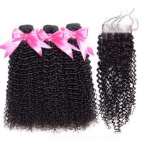 China Smooth Indian Human Hair Weave / Tight And Neat 18 Inch Hair Extensions wholesale