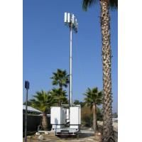 China Vehicle Mounted Pneumatic Telescopic Mast Mobile Light Tower With tripod wholesale