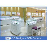 China Attractive Jewellery Counter Display / Gold Shop Counter Design wholesale