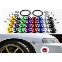 China Alloy Material Car Bumper Fasteners Bolt Kit With Lightweight Aluminum Forged wholesale