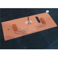 Light Weight Rubber Heating Pad / Custom Silicone Heater For Pad Durable