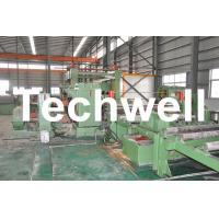 China 1 - 6mm Automatic Steel Metal Coil Cut To Length Line With 0 - 40m/min Speed wholesale