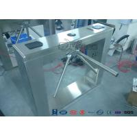 Quality Security Controlled Access Turnstiles Electric Turnstile Access Control System With Counter for sale