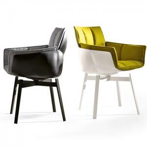 China Comfortable Husk Fiberglass Dining Chair With Unmistakable Modular Shell on sale