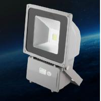 China 70W LED Flood Light projector outdoor lighting fixture lamps black aluminum housing wholesale
