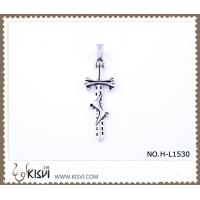 China Hot sell 316 Stainless Steel Cross & Sword  Pendant H-L1530 wholesale
