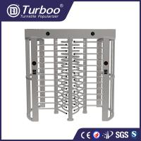 China Amusement Parks High Security Turnstile Gate With Fingerprint Scanner wholesale