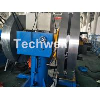 China Rotary Double Head Uncoiler / Decoiler Machine With Manual Or Hydraulic Type wholesale
