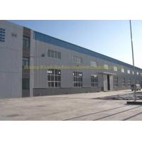 China Fire Proof Quick Build Prefabricated Steel Structure Warehouse Moisture Proof wholesale