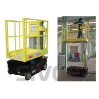 China 5m Working Height Self Driven / Motor Driven Aerial One Man Lift For Fixture Works wholesale