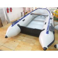 China Pvc Tarpaulin 12 Foot Inflatable Boat , Rigid Inflatable Dinghy For Adult wholesale