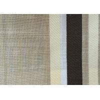 China Washable Upholstery Polyester Blend Fabric , Plain Linen Fabric wholesale
