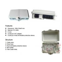Buy cheap Indoor UV Resistant fibre termination box , fiber distribution box For Fiber To The Home product