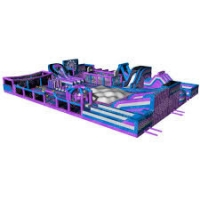 China Inflatable Theme Park For Interactive Sport wholesale