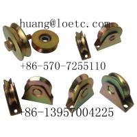 China industrial steel pulley wheels with bearings wholesale