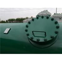 Quality High Pressure Gas Storage Tanks For Emergency Oxygen Horizontal Low Alloy Steel Material for sale