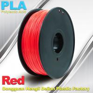 Quality PLA  Filament, 1.0kg /  roll ,1.75mm / 3.0mm  3D Printer Filament Red colors for sale