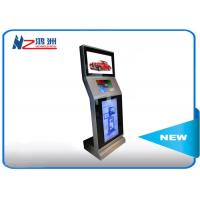 China Automatic Touch Screen Information Kiosk Operated Tap Hotel Lobby With Cash Reader wholesale