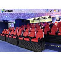 China SGS Certificate 6D Motion Theater 24 Seater Dynamic System Mini Cinema Equipment wholesale
