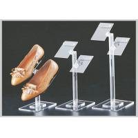 China Tiered Floor Standing Acrylic Display Stand , Acrylic Display Rack For Shoes on sale