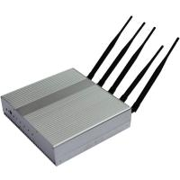 China Professional Remote Control 35dBm Mobile Jammer Device 3G 2110-2170MHZ wholesale