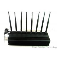 China 8 Antennas 4G GPS Cell Phone Signal Jammer wholesale