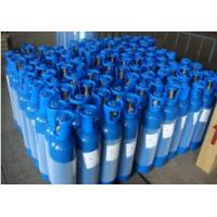 Quality 40L - 80L GB5099 Seamless Steel Compressed Gas Cylinders For High Purity Gas ISO9001 for sale