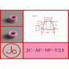 China Industrial Aluminum Oxide Ceramic AL2O3 Alumina Ceramic Textile Eyelets Wire Guide wholesale