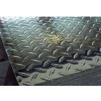 China ASTM A786 Checkered Plate , 5 Bar Aluminum Tread Plate 1050 1060 1100 3003 3105 5052 wholesale