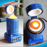 China JC Portable Electric Copper Aluminum Lead Gold Smelter for Sale wholesale