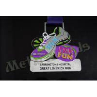 Soft Enamel Personalised Running Medals Award Medallion OEM & ODM Acceptable