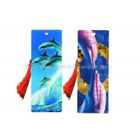 Quality Laminated Design Your Own Bookmark  3d Effect Printing With Tassel Flip Effect for sale
