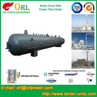 China Industrial Steam Boiler Mud Drum Anti Corrosion Stainless Steel Body wholesale