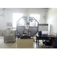 China High Safety Charpy Test Equipment Angle 150 ° With Big Touch Screen Monitor wholesale