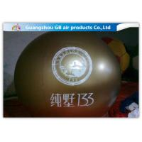 China Green PVC Promotional Inflatable Helium Balloons With Logo Printing wholesale