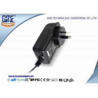 China AC DC Wall Mount Power Adapter 12V 2A 1.5 Meters For CCTV Camera wholesale
