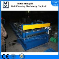 China Aluminum Roofing Sheet Making Machine , Hydraulic Pump Roof Forming Machine on sale