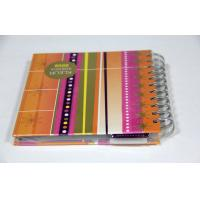 A4 A3 Yo Binding Notebook , Softcover Book Printing With Spiral Binding