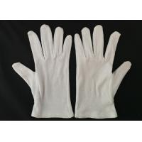China Inspection Protective Cotton Work Gloves Heavy Weight Men's Glove Liner wholesale