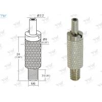 China Brass Material Aircraft Cable Grippers / Wire Cable Grippers With M 6 Male Thread wholesale