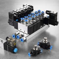 China 2 Position Air Actuated Solenoid Valve , Plate Type Double Acting Solenoid Valve wholesale