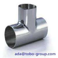 China A403 WP321 321H WP347 Stainless Steel Tee , Thickness 5s - Xxs wholesale