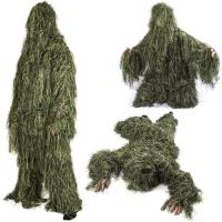 China Ground Blind Hunting Clothes Hunting Ghillie Suit Forest 3d Hunting Camo Clothing wholesale