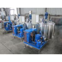 Quality 1000L AISI304 Milk Cooling Tanks With CIP Cleaning Device Cool Milk Machine Tank With Best Price  Dairy Farm Milking Pro for sale