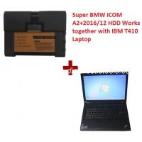 Quality Super BMW ICOM A2 BMW Diagnostic Tools With  2018.5V HDD Plus Lenovo T410 Laptop Support Multi Languages for sale